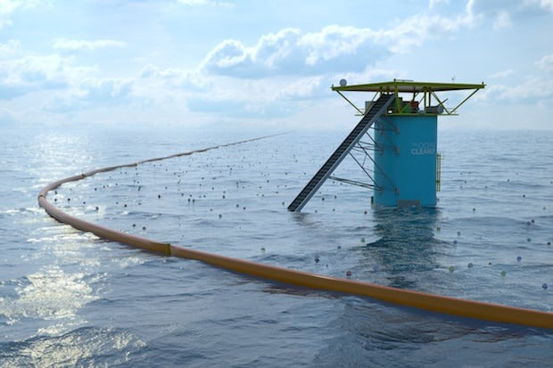 The Ocean Cleanup ©Boyan Slat The Ocean Cleanup