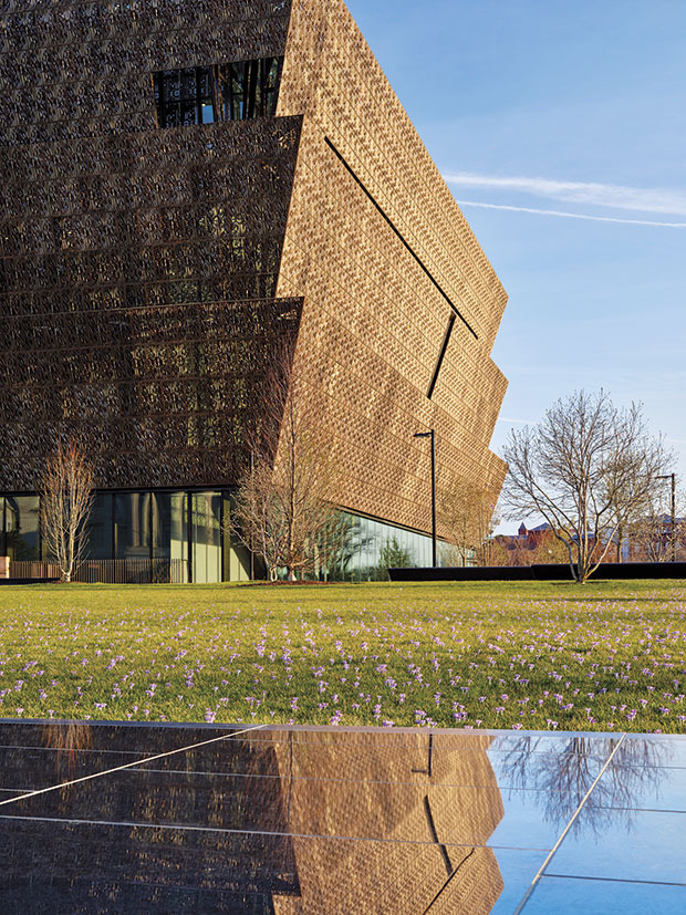 Smithsonian National Museum of African American History and Culture, NMAAHC, in Washington – Fassade  ©Foto: Alan Karchmer