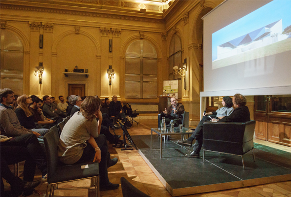 Francisco Mangado bei den November Talks 2017 © Foto: Marius Sabo