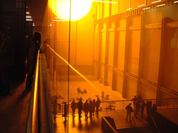Olafur Eliasson The weather project ©QUER
